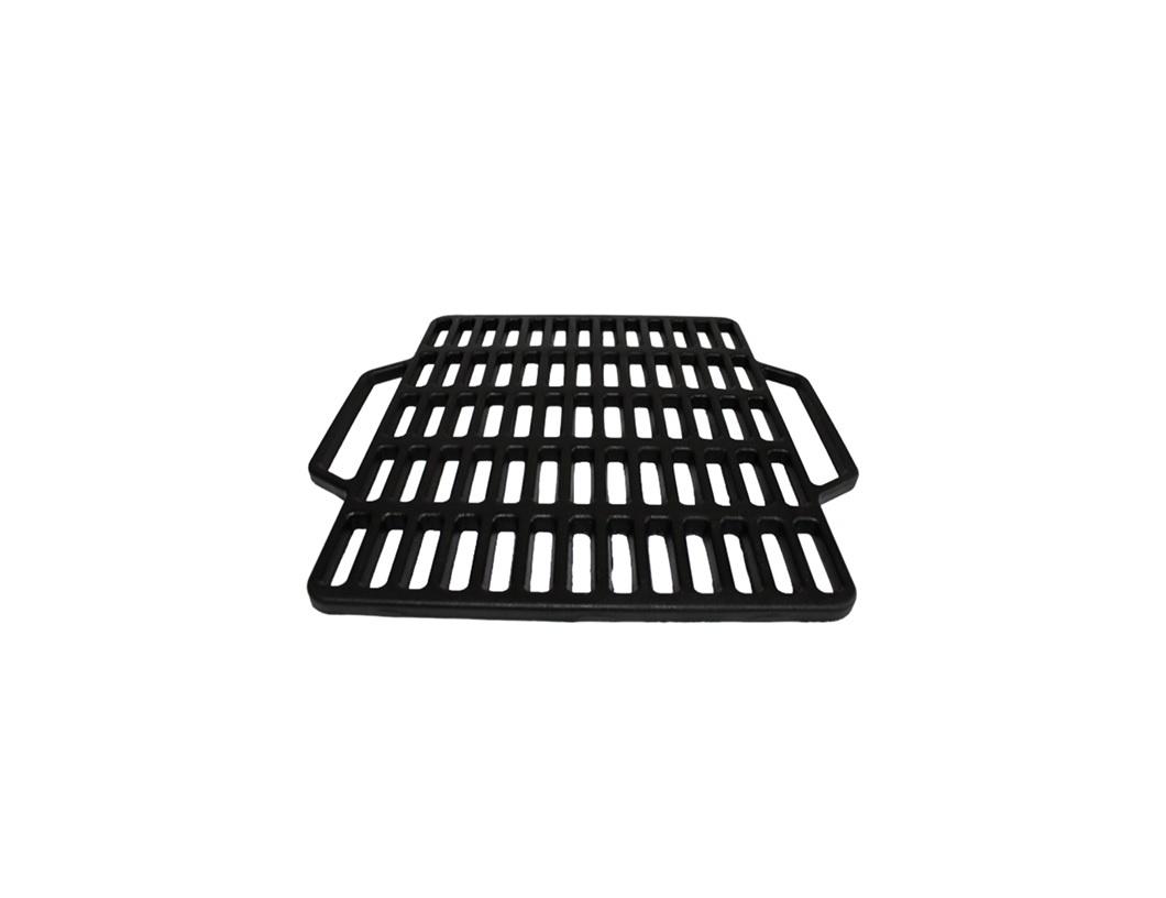 """Решетка для гриля Камская посуда, 44*40 смреш440""""Решетка для гриля Камская посуда изготовлена из высококачественного чугуна. Такую решётку можно использовать для приготовления пищи на открытом огне без всякого вреда для вашего здоровья. Это отличное приспособление для приготовления изысканных блюд всех кухонь мира!"""""""