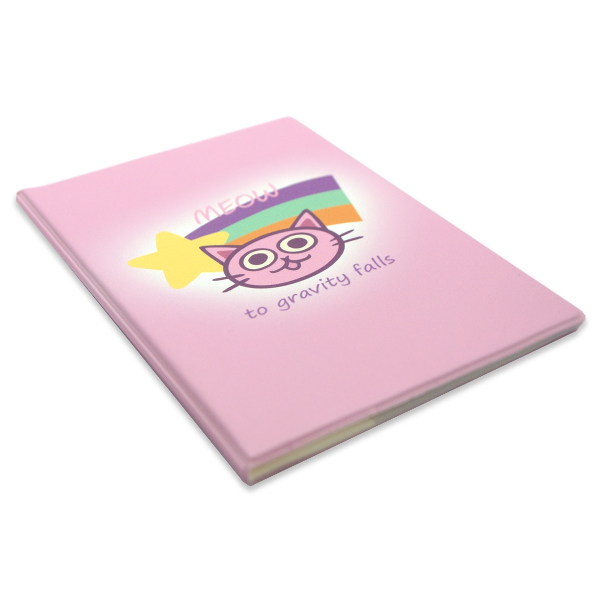 Обложка на паспорт Гравити Фолз Кот 1 футляр для телефона disney дисней гравити фолз мэйбл черный с принтом