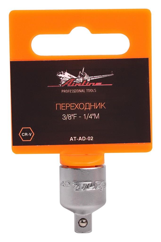 Переходник 3/8F - 1/4M (AT-AD-02)