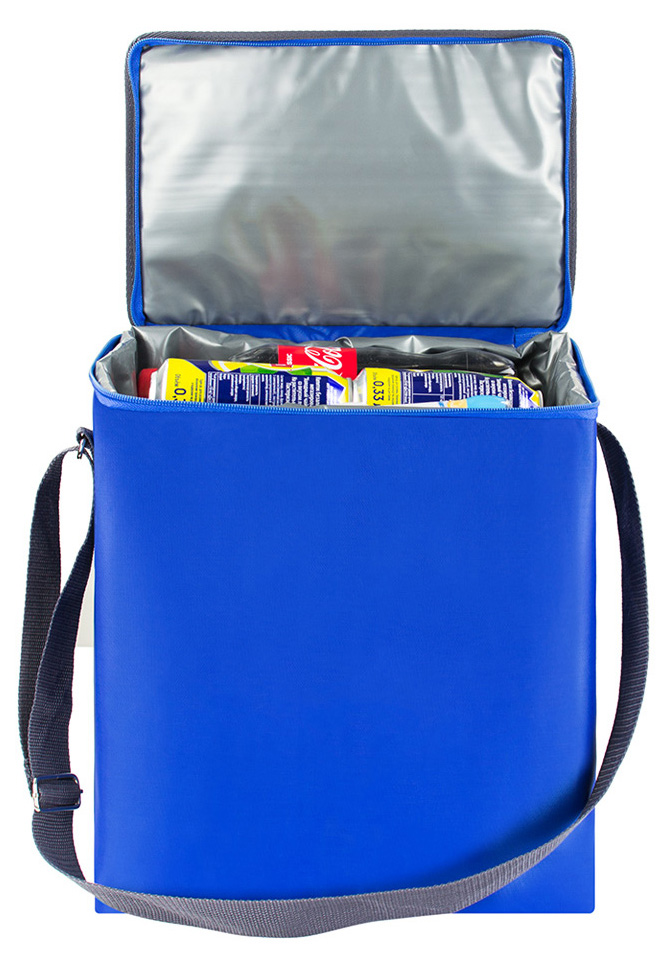 Сумка-холодильник EASY, цвет: синий, 18 л