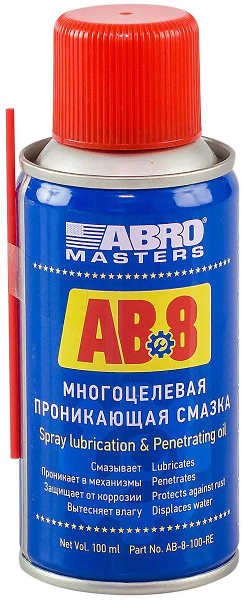Смазка многоцелевая Abro, проникающая, 100 мл abro 027368 37 13