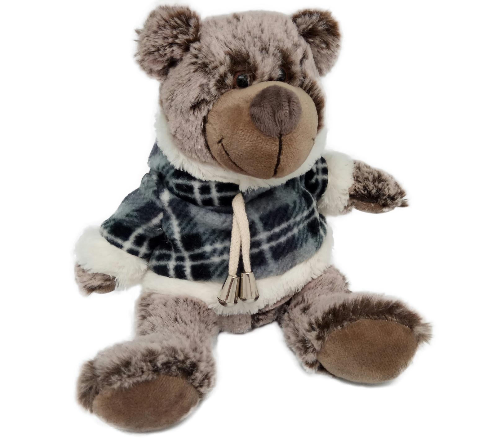 АБВГДЕЙКА Мягкая игрушка Медведь в свитере, 25 см цена