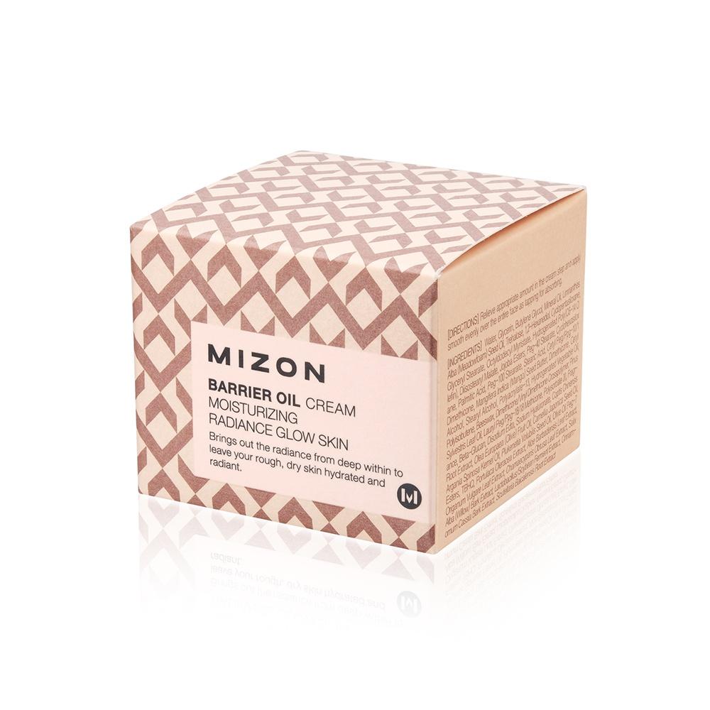 Укрепляющий крем с маслом оливы Mizon Barrier Oil Cream Moisturizing 50 мл Mizon
