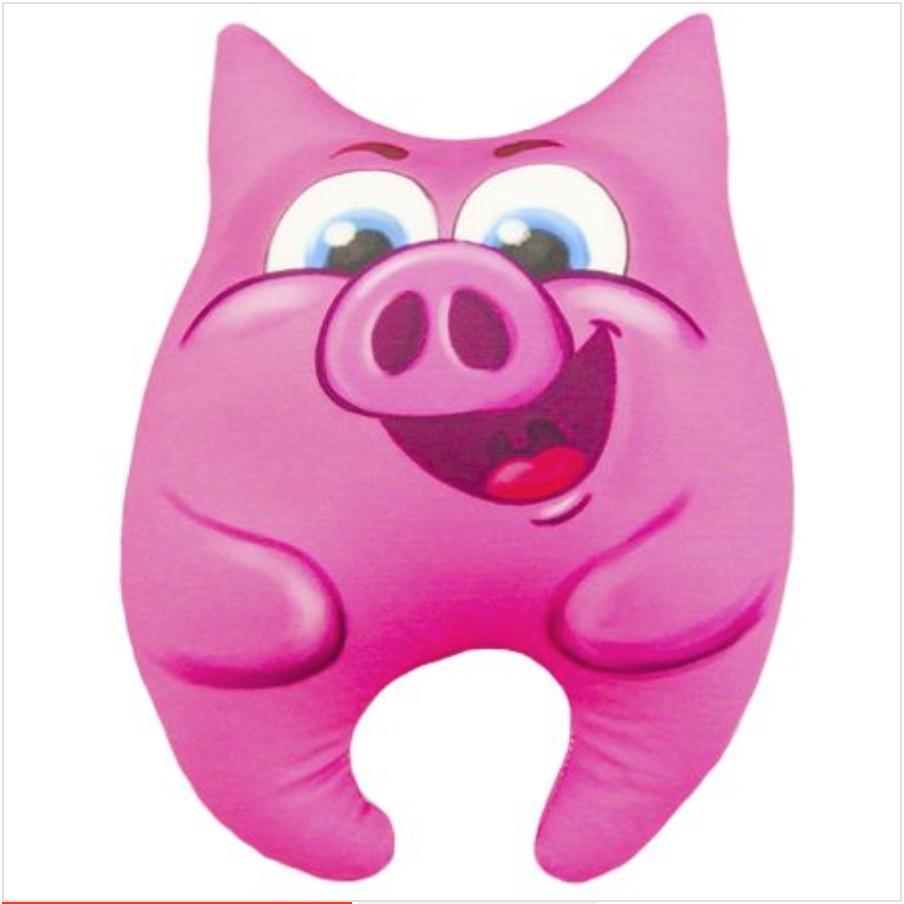 Мягкая игрушка Игрушка свинка Лапочка 01 Оранжевый Кот