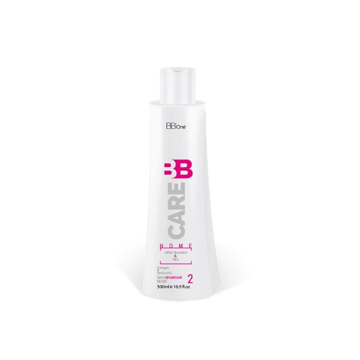Маска для волос BB one BB CARE AFTER KERATIN & BTX HOME TREATMENT MASK, 500 набор bb care after nanoplastica bbone для волос после химического воздействия