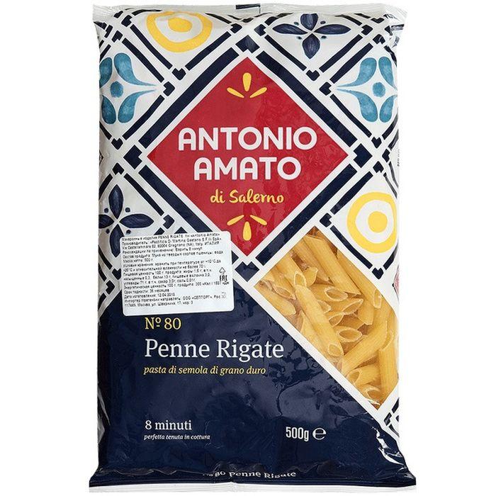 Макаронные изделия Antonio Amato PENNE RIGATE (Перья), 500 г