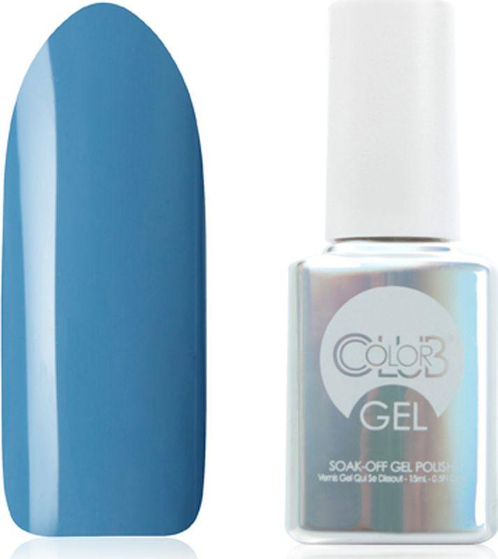 Гель-лак Color Club Gel, тон 1076 Route 66, 15 мл гель лак color club gel тон 1076 route 66 15 мл