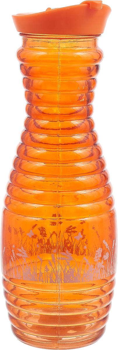 Графин Loraine, 28170, оранжевый, с крышкой, 1 л