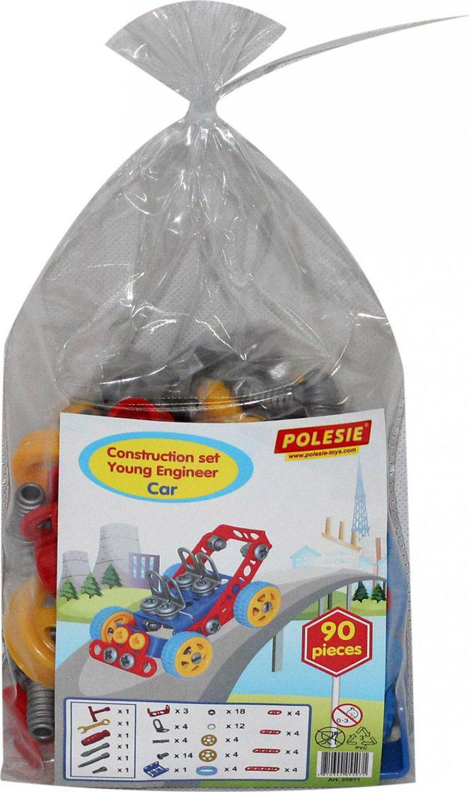 Фото - Полесье Конструктор Изобретатель Автомобиль №1, 55071, цвет в ассортименте конструктор 4m изобретатель щеткоробот