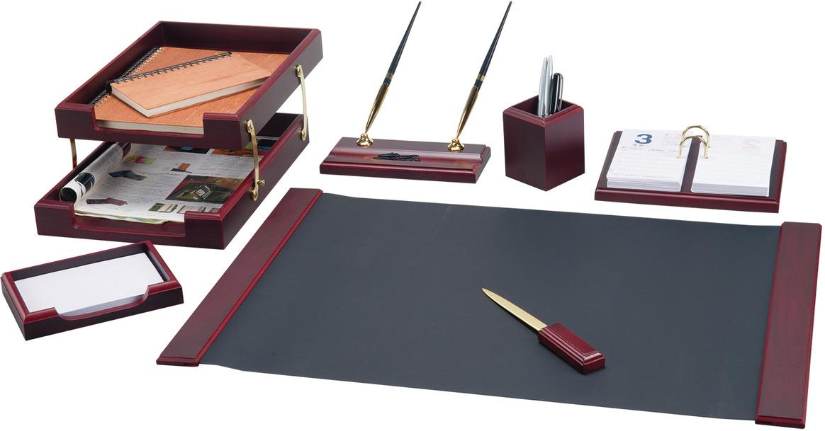 Набор письменных принадлежностей Bestar Ares, 236355, красное дерево, 7 предметов подставка для бумажного полотенца regent