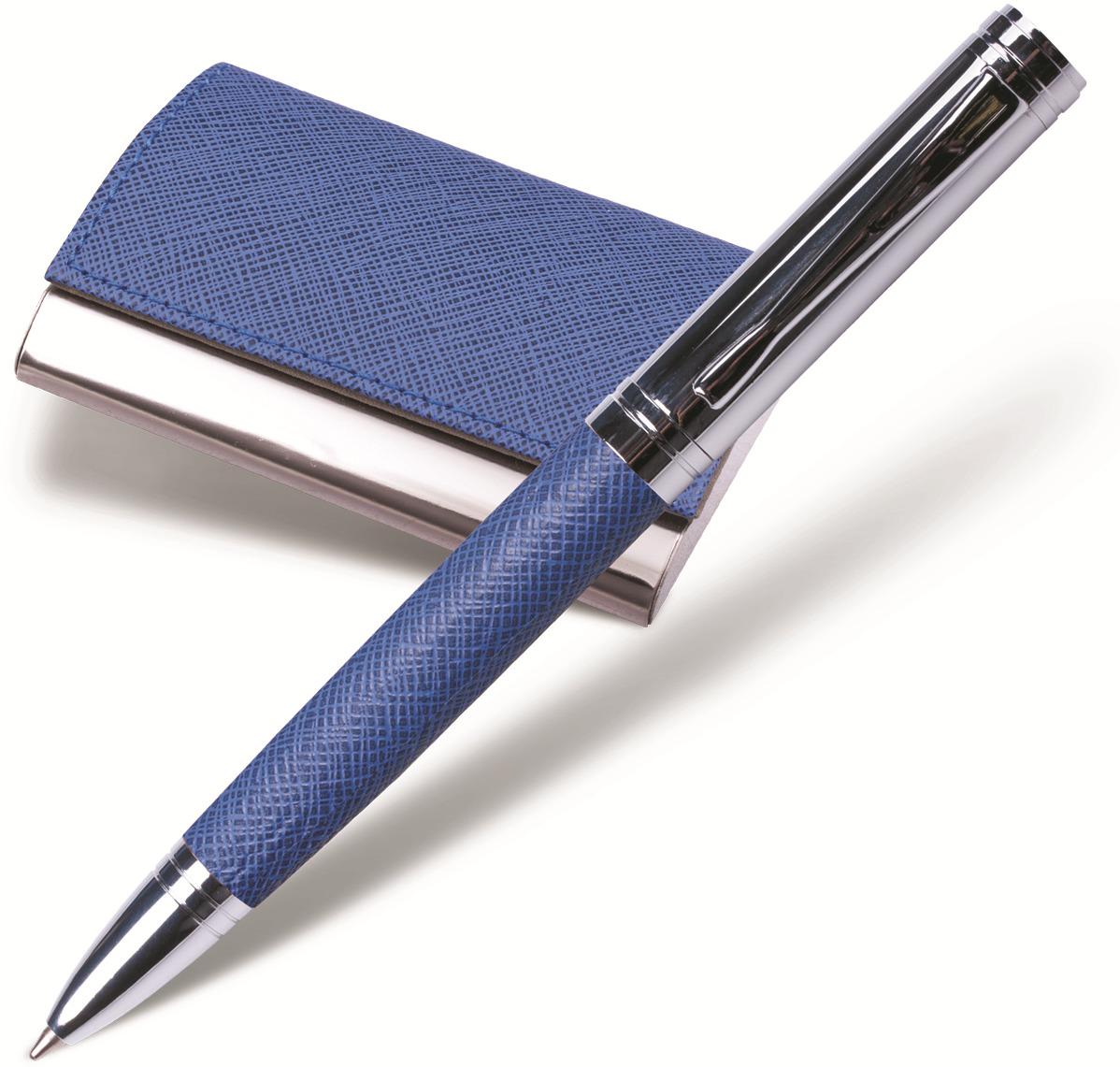 Набор письменных принадлежностей Galant Prestige Collection, 141376, синий, 2 предмета