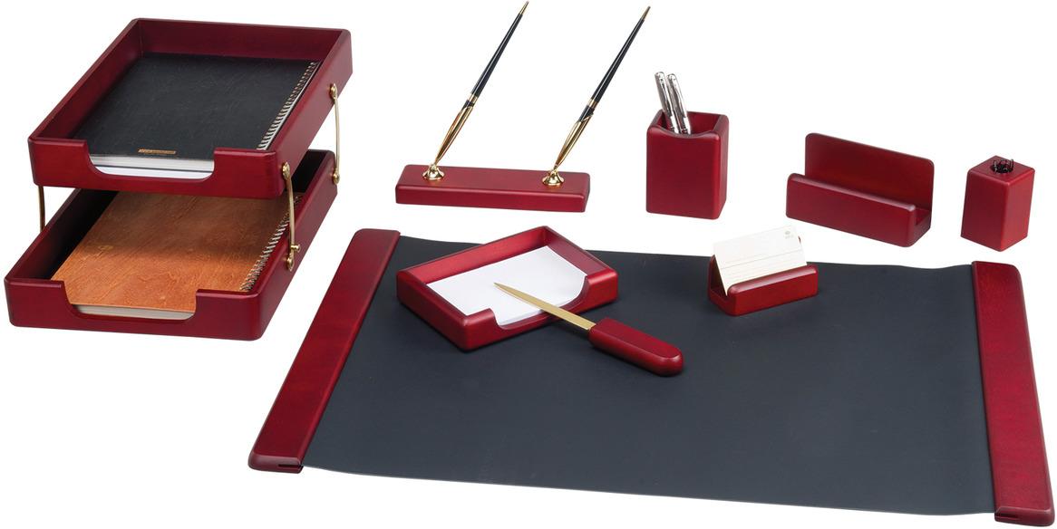 Набор письменных принадлежностей Bestar Saturn, 236377, красное дерево, 9 предметов подставка для бумажного полотенца regent
