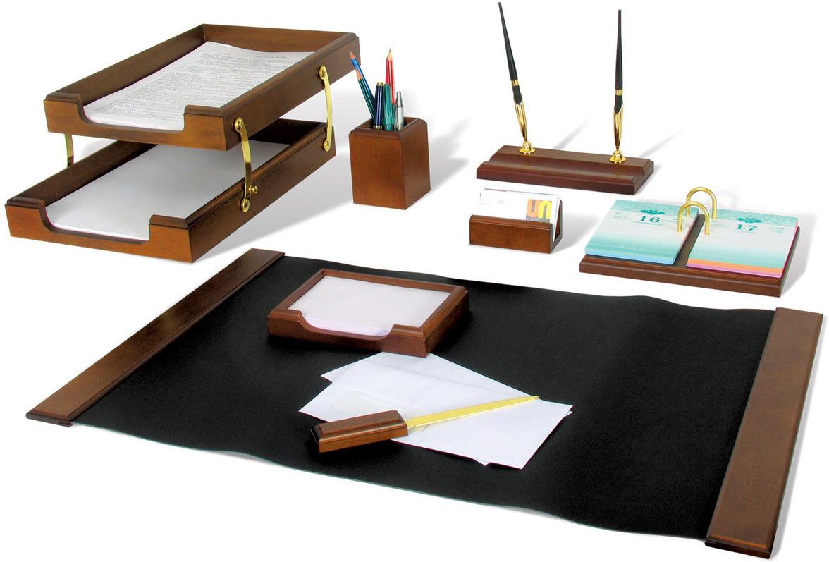 Набор письменных принадлежностей Bestar Titan, 236367, орех, 8 предметов подставка для бумажного полотенца regent