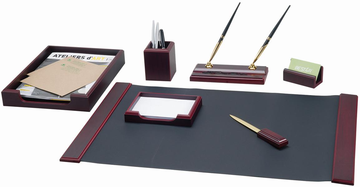 Набор письменных принадлежностей Bestar Hermes, 236362, красное дерево, 7 предметов подставка для бумажного полотенца regent