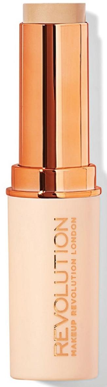 Тональная основа Makeup Revolution Fast Base Stick Foundation F4, 6,2 г coq10 для кожи