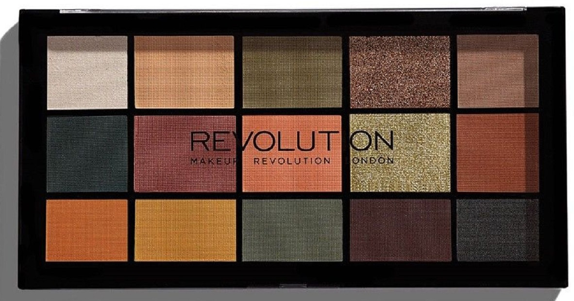 Палетка теней Makeup Revolution Re-Loaded Palette Iconic Division, 16 г палетка теней makeup revolution re loaded palette iconic vitality 16 гр