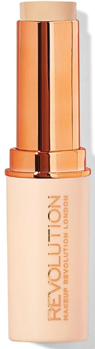 Тональная основа Makeup Revolution Fast Base Stick Foundation F3, 6,2 г coq10 для кожи