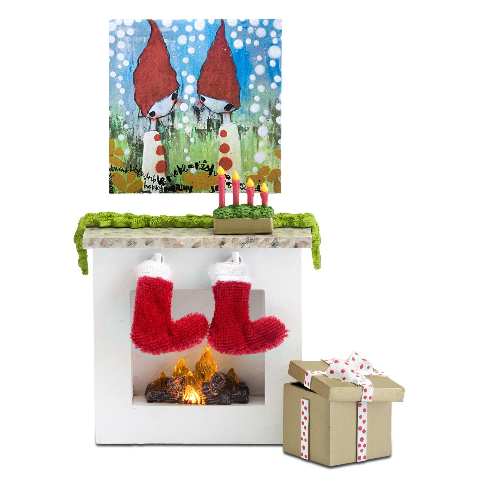 Аксессуар для кукол Lundby Камин с аксессуарами, LB_60304800