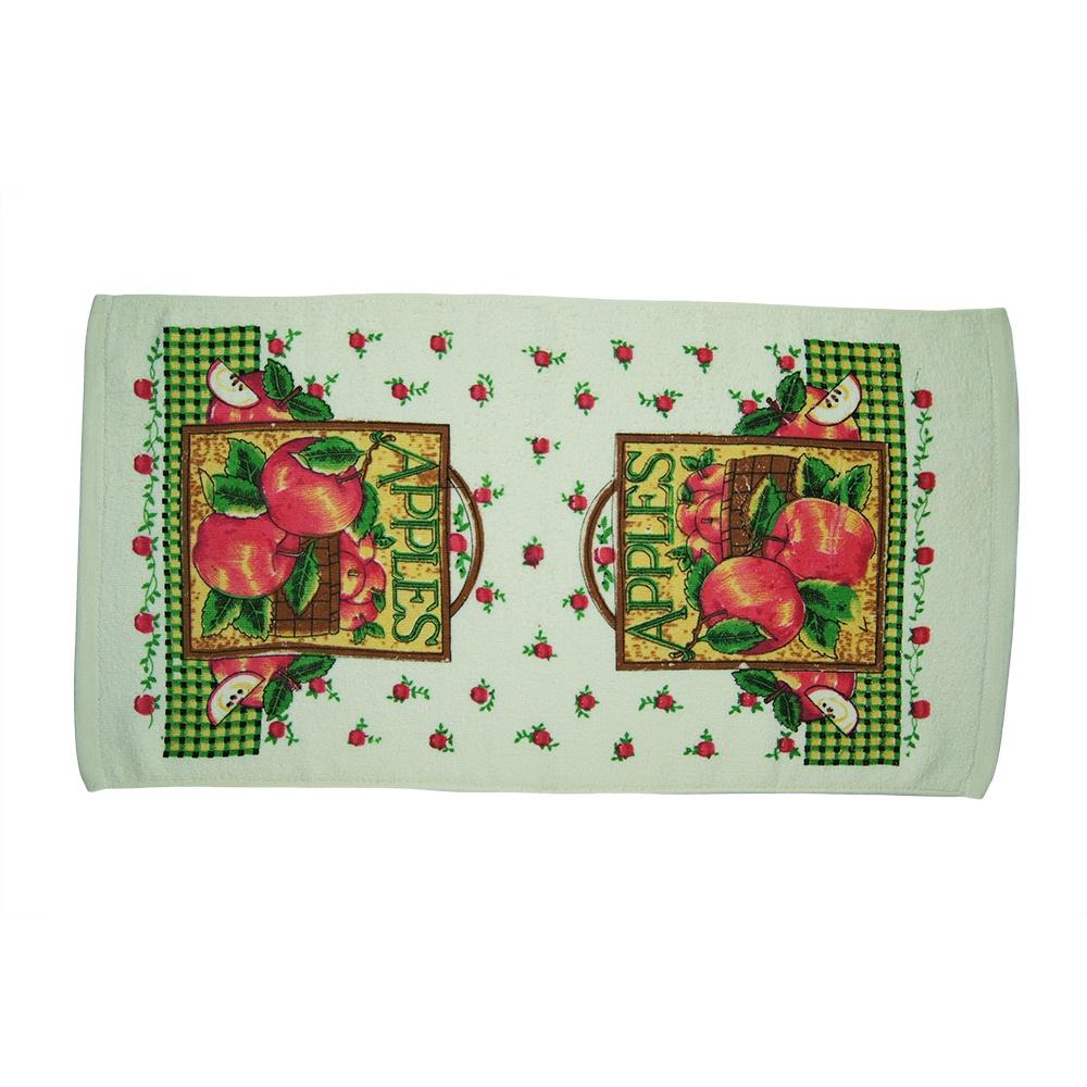 Полотенце кухонное махровое Utex, А1312, светло-зеленый, 35 х 68 см