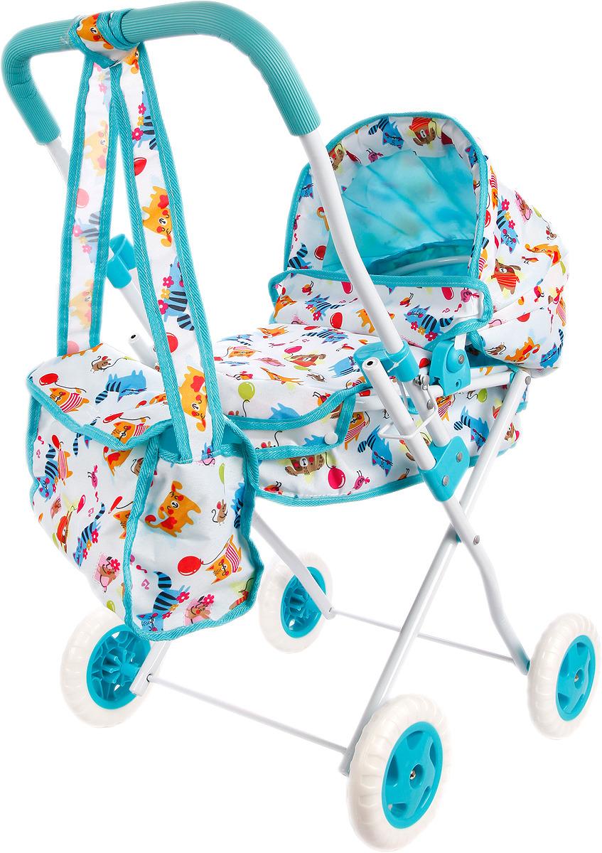 Коляска для куклы Mary Poppins Фантазия, 67315 коляска для куклы трость mary poppins фантазия голубой
