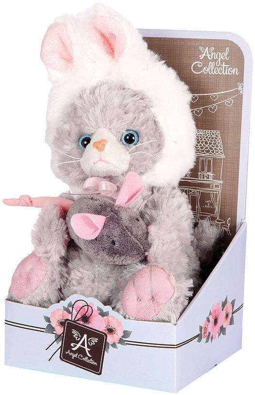 Мягкая игрушка Angel Collection Котик Cat story Зайка 20 см, 681343 цена