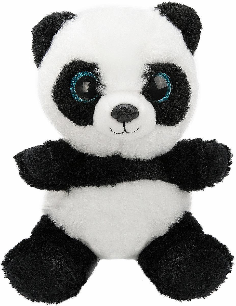 Мягкая игрушка Fluffy Family Крошка Панда, 681504, 15 см мягкая игрушка панда fluffy family крошка панда 30 см белый черный бежевый текстиль искусственный мех пластик 681241