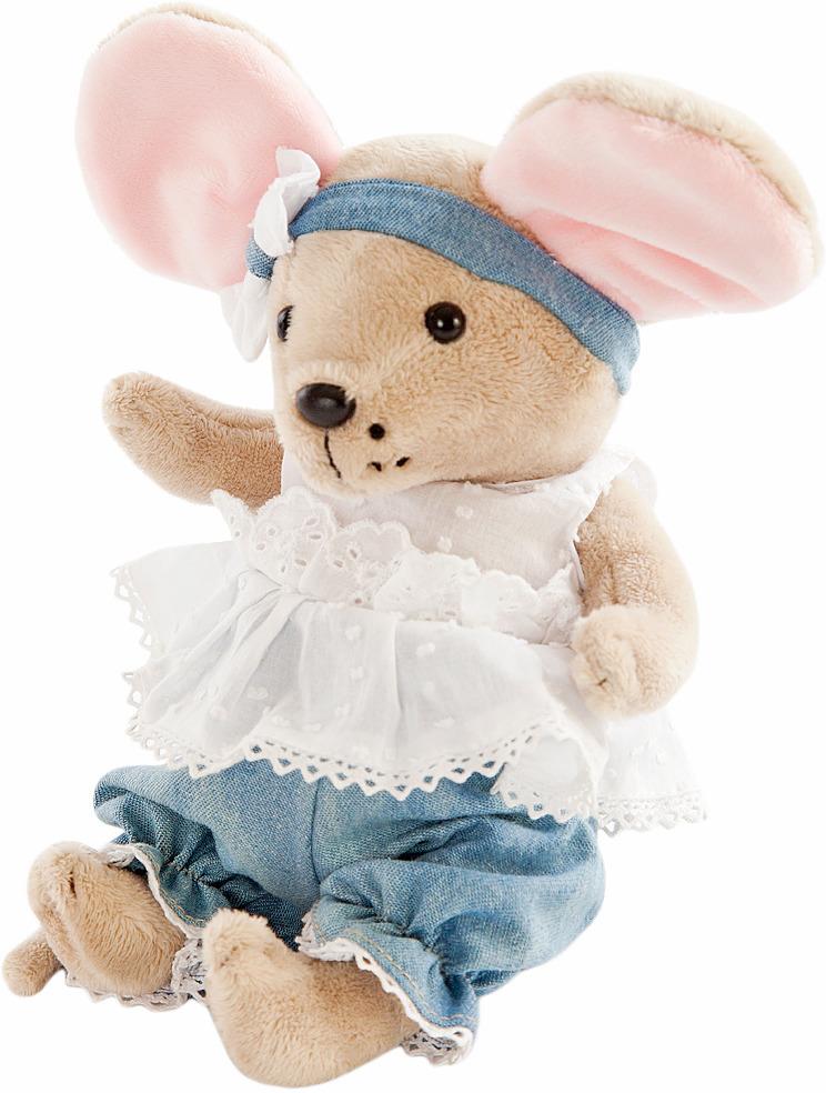 """Мягкая игрушка Angel Collection """"Мышка шарнирная. Облачко"""", 681340"""