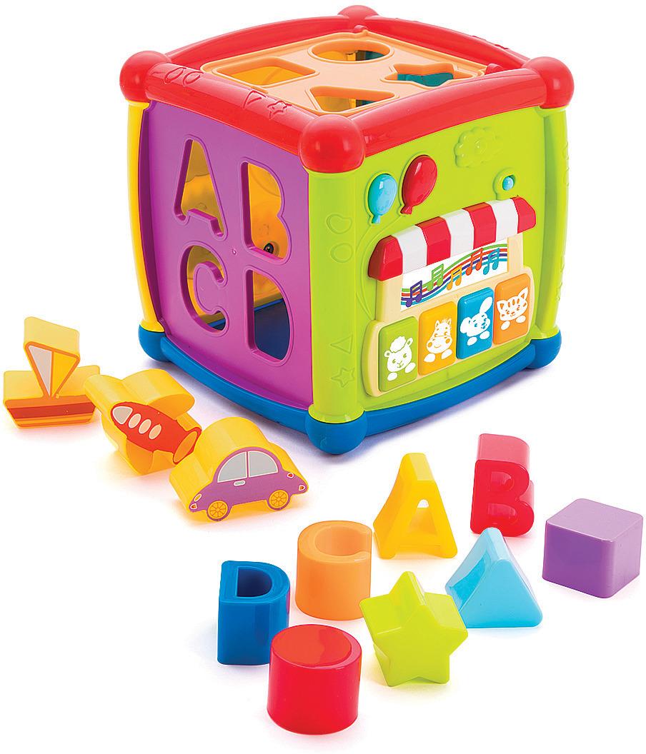Игрушка развивающая Жирафики Суперкуб, 939602, 15 х 15 х 15 см сортер жирафики веселые животные