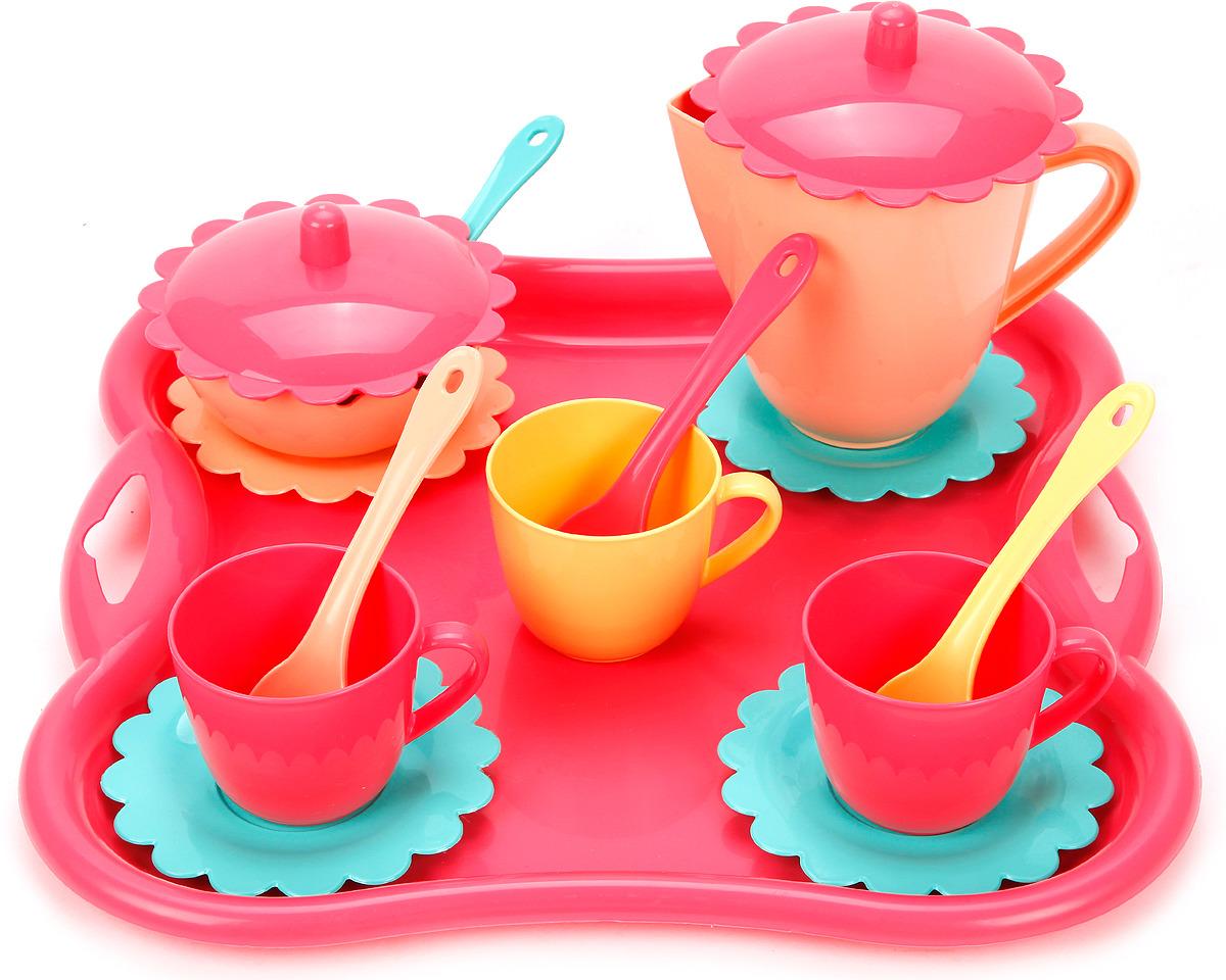 Сюжетно-ролевые игрушки Mary Poppins Чайный набор Карамель, 39497 ролевые игры лена набор посуды чайный набор two tea