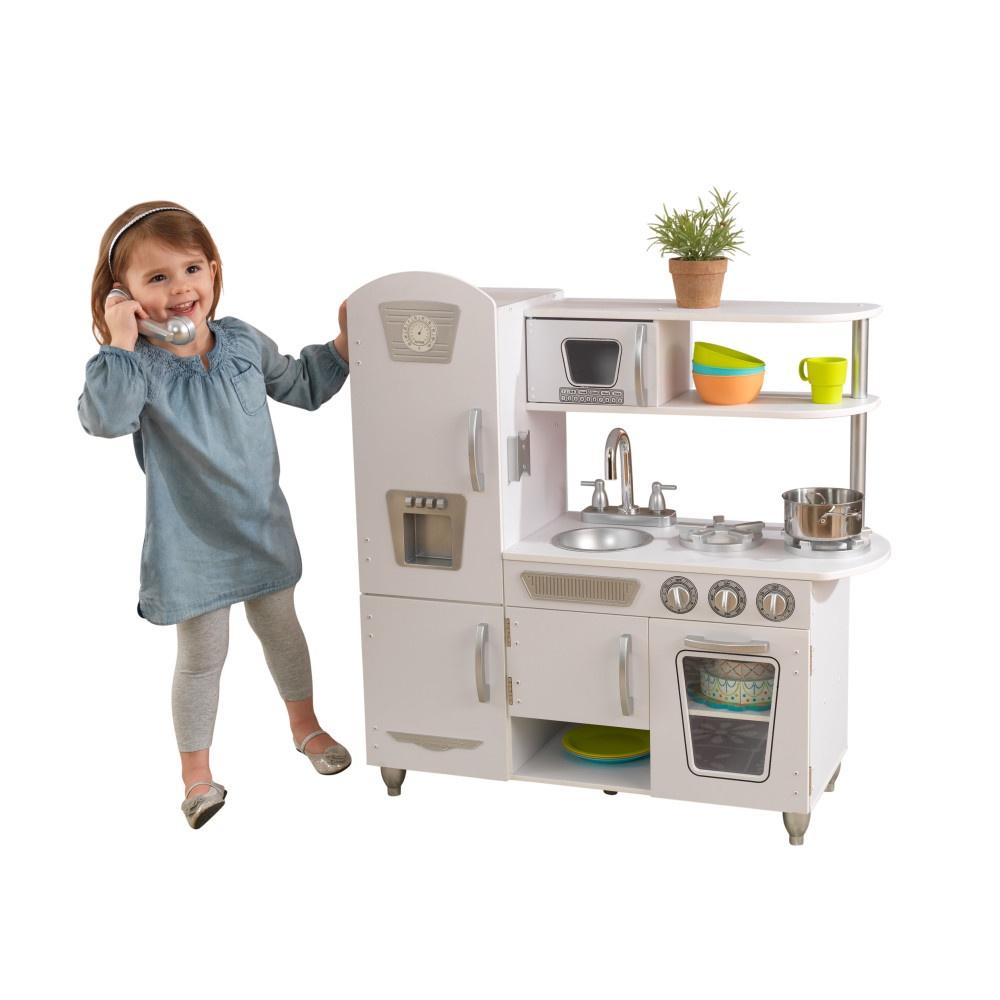 """Игрушка KidKraft """"Кухня Винтаж"""", 53402_КЕ, белый"""