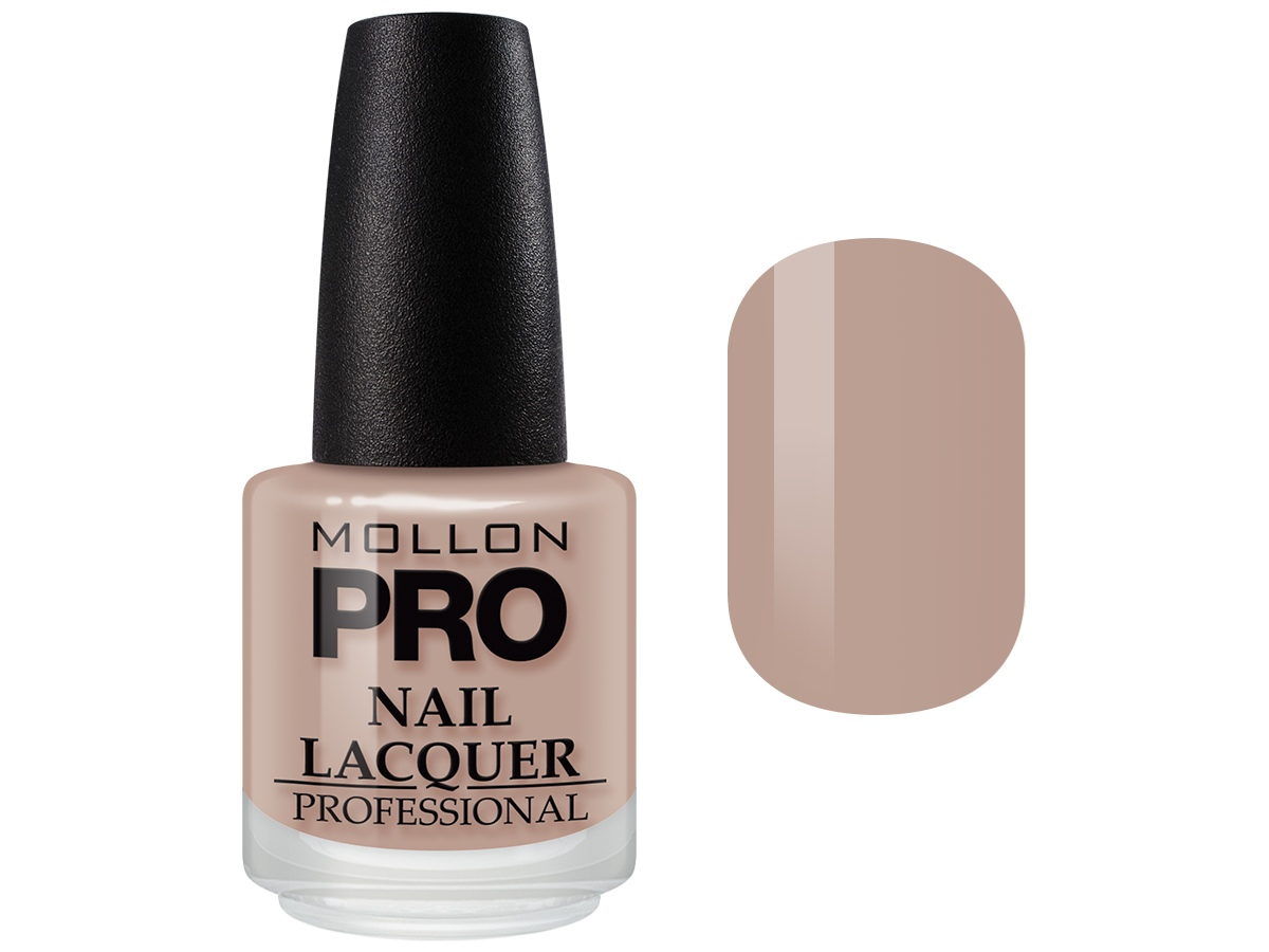 Лак для ногтей MOLLON PRO HARDENING NAIL LACQUER с закрепителем, №213 лак oxi паркетный лак ультрастойкий пу 0 75л б цв глянц ox1310ru