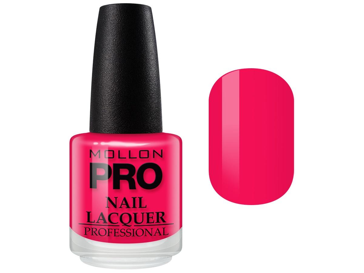 Лак для ногтей Mollon Pro Hardening Nail Lacquer с закрепителем, №183 лак oxi паркетный лак ультрастойкий пу 0 75л б цв глянц ox1310ru