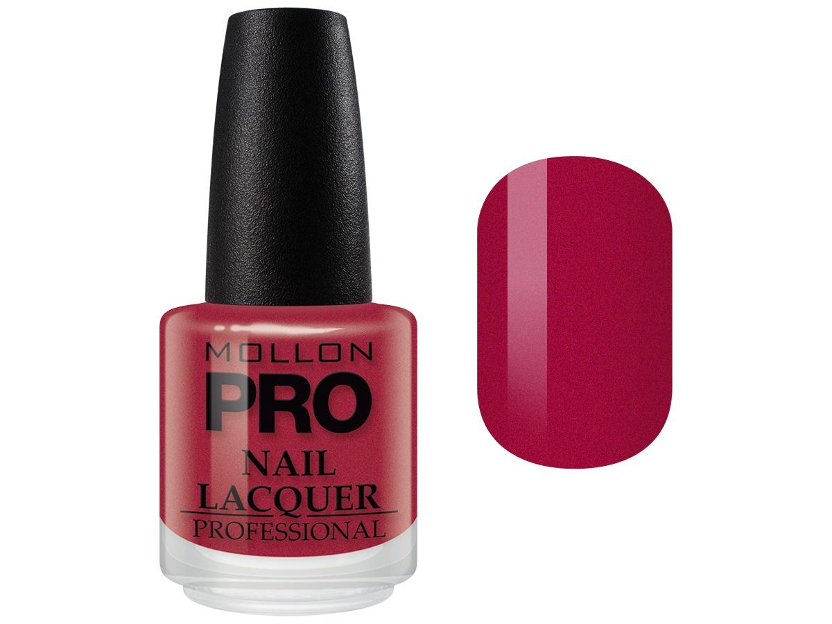 Лак для ногтей Mollon Pro Hardening Nail Lacquer с закрепителем, №011 лак oxi паркетный лак ультрастойкий пу 0 75л б цв п мат ox1300ru