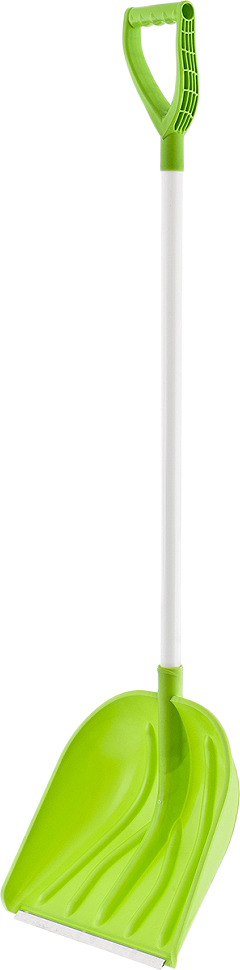 Лопата снеговая Сибртех Profi, 61492, 149 х 41 х 39 см61492Качественная лопата станет надежным помощником в работе по уборке снега.Рабочая часть выполнена из ударопрочного и устойчивого к низким температурам первичного полипропилена.Вместительный углубленный ковш позволяет значительно ускорить процесс уборки снега, что делает работу более быстрой и эффективной.Специальная алюминиевая окантовка кромки ковша не только дает возможность легко счистить слежавшийся снег и наст, но и защищает ковш от повреждений и быстрого износа.Высокие бортики помогают удерживать снег внутри ковша.Длинный черенок позволяют снизить нагрузку на спину.Легкий вес инструмента способствует продолжительной работе без усталости.Преимущества лопаты:Эффективное выполнение работ.Комфортное использование.Надежность.Долговечность.