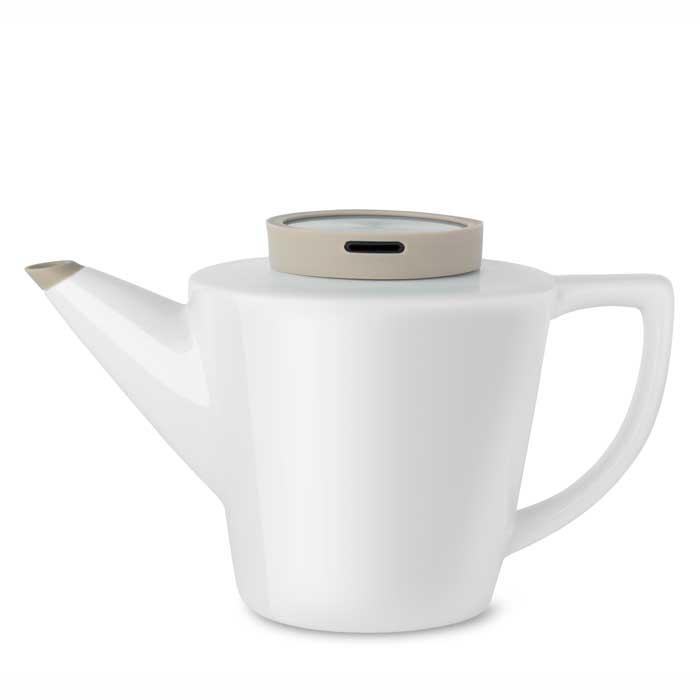 Чайник заварочный Viva scandinavia Infusion, белый, 1.2 л