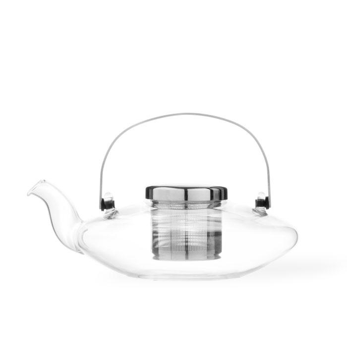 Чайник заварочный с ситечком Viva scandinavia Infusion, V70500, прозрачный, 0,58л