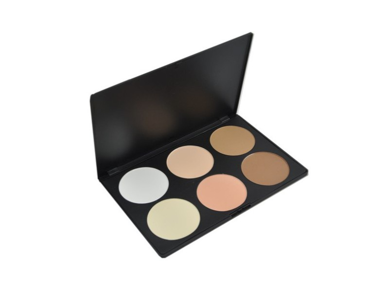 Палитра пудры Visage Cosmetics, 6 цветов палитра пудры visage cosmetics 6 цветов