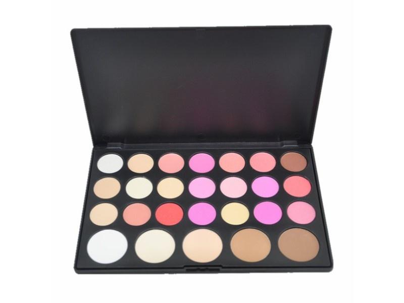 Палитра сухих корректоров и румян Visage Cosmetics, 26 цветов палитра пудры visage cosmetics 6 цветов