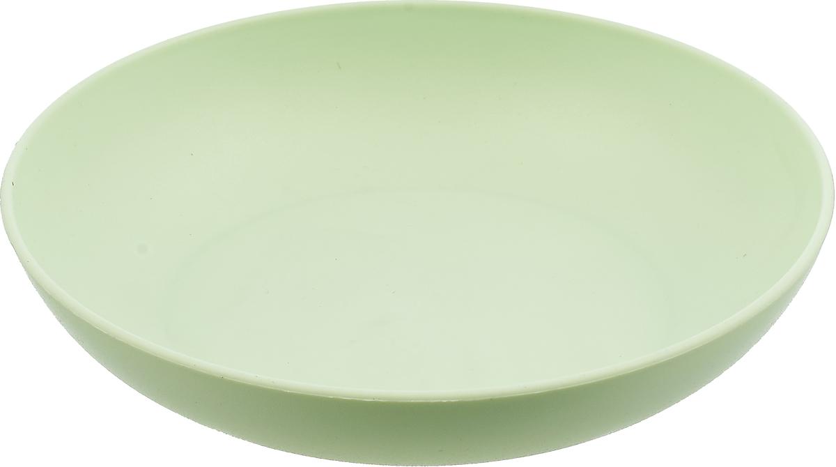 Тарелка Gotoff, WTC-275, фисташковый, диаметр 18 см тарелка глубокая gotoff цвет фисташковый диаметр 18 5 см