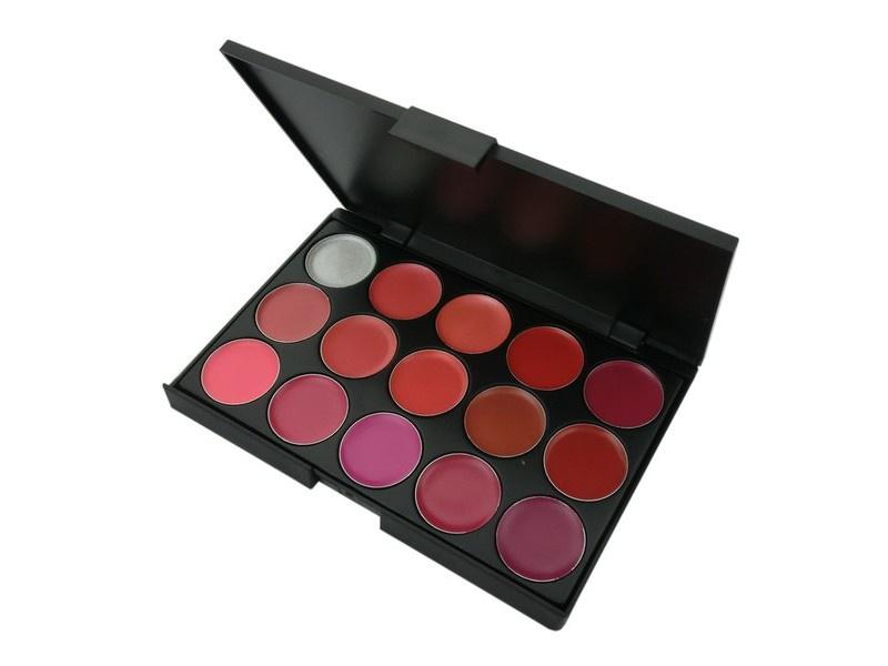 Палитра помад Visage Cosmetics, 15 цветов палитра пудры visage cosmetics 6 цветов