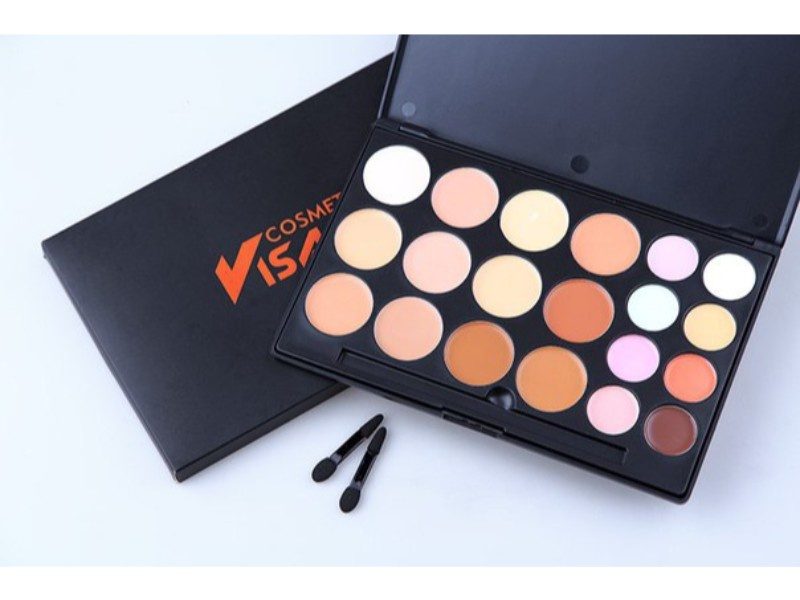 Палитра консилеров Visage Cosmetics FG-20, 20 цветов