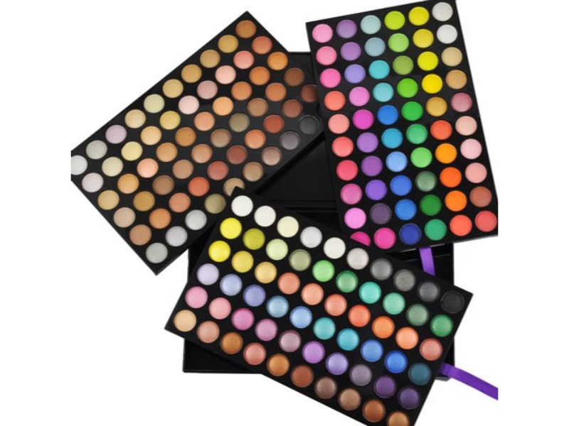 Палитра теней Visage Cosmetics SP180 матовые и перламутровые, 180 цветов палитра пудры visage cosmetics 6 цветов
