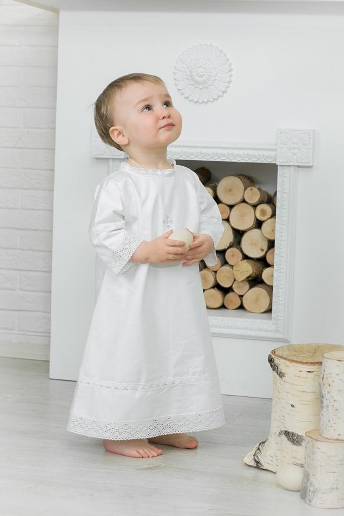 Рубашка Alivia Kids крестильная одежда alivia kids крестильное полотенце с крестом 130х70 12 701