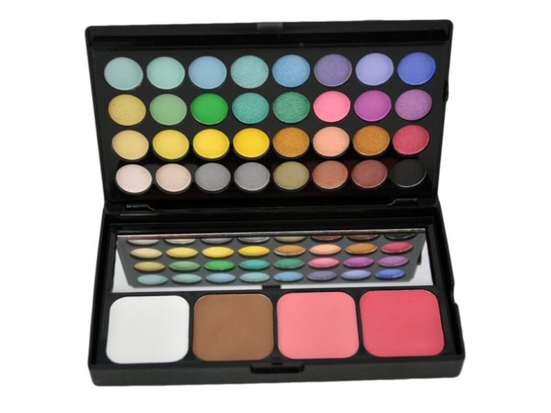 Палитра теней, румян и консилеров Visage Cosmetics SSPB036A, 36 цветов палитра теней manly pro manly pro палитра теней для век п84