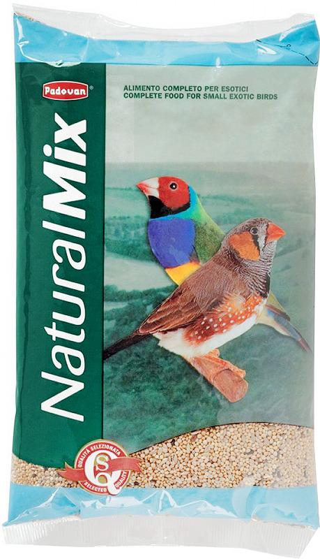 Корм Padovan Naturalmix Esotici для экзотических птиц, 1 кг padovan корм padovan lino для птиц зёрна льна 1 кг