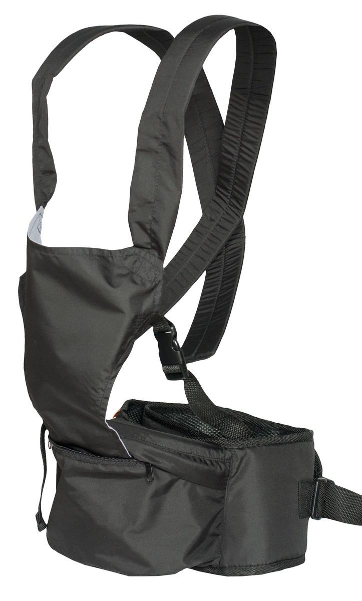 Хипсит-рюкзак Непоседа Чудо-Чадо, ПНР02-004, черный mum s era хипсит со спинкой комфорт цвет бордо черный