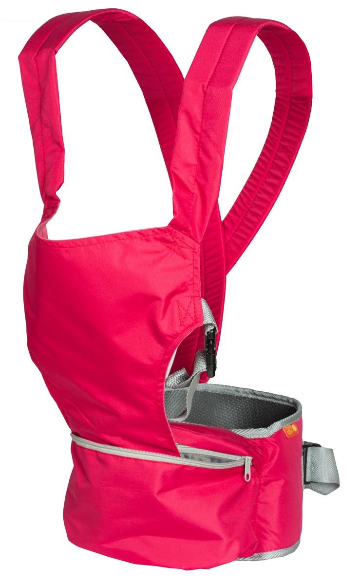 Хипсит-рюкзак Непоседа Чудо-Чадо, ПНР03-004, вишневый mum s era хипсит со спинкой комфорт цвет бордо черный