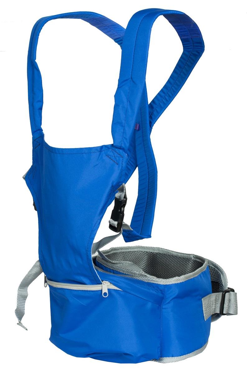 Хипсит-рюкзак Непоседа Чудо-Чадо, ПНР05-004, синий mum s era хипсит со спинкой комфорт цвет бордо черный