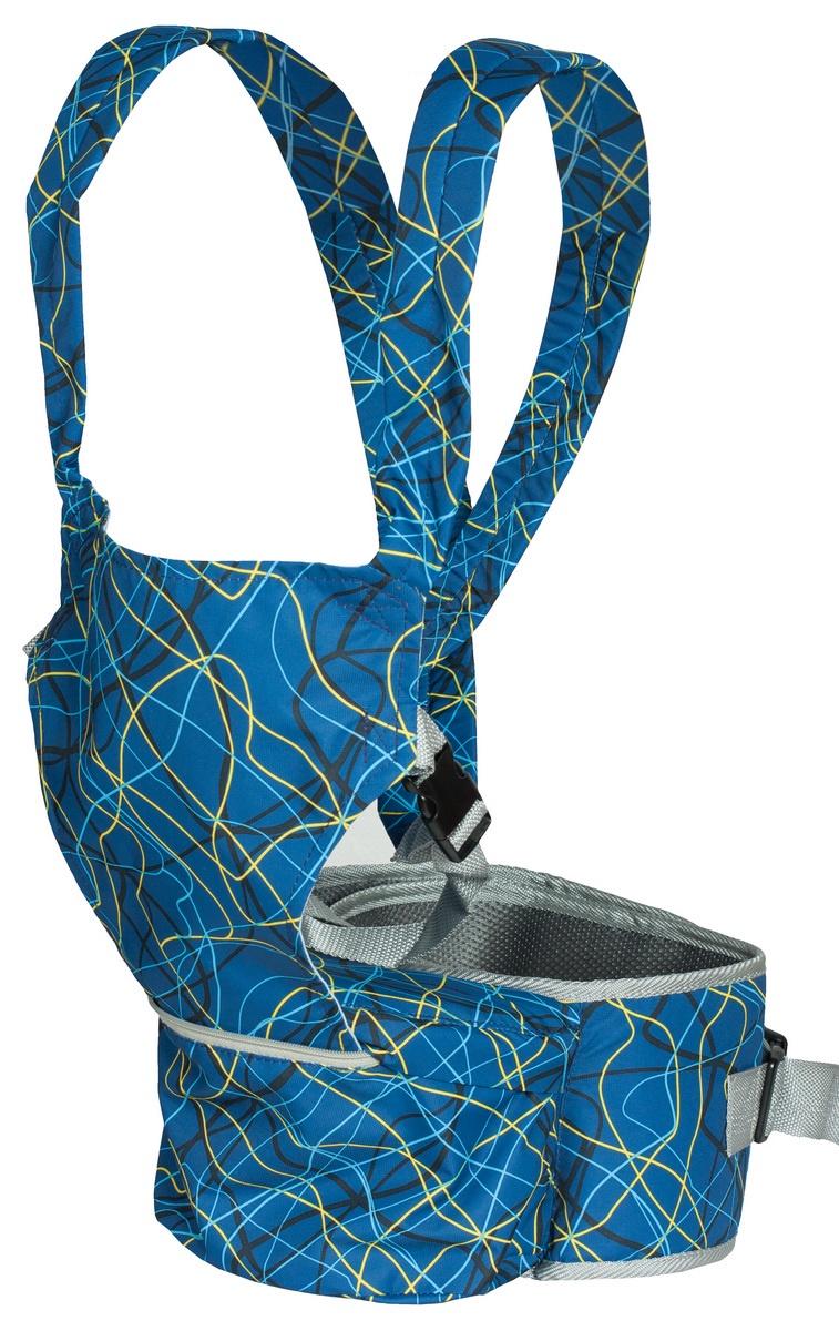 Хипсит-рюкзак Непоседа Чудо-Чадо, ПНР08-004, синий mum s era хипсит со спинкой комфорт цвет бордо черный