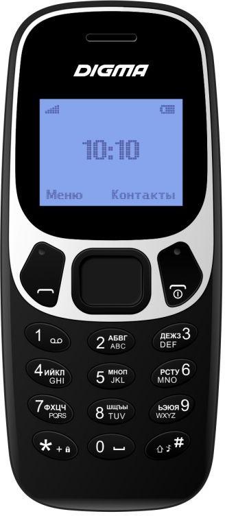 Мобильный телефон Digma Linx A105N 2G, черный мобильный телефон digma linx a242 2g черный фиолетовый